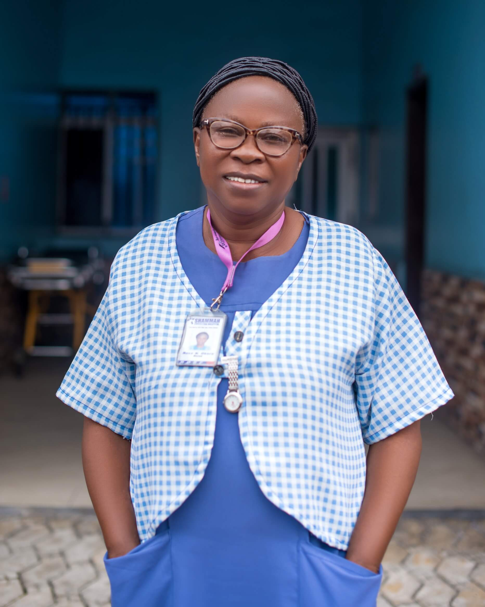 Assistant Matron of shammah christian hospital