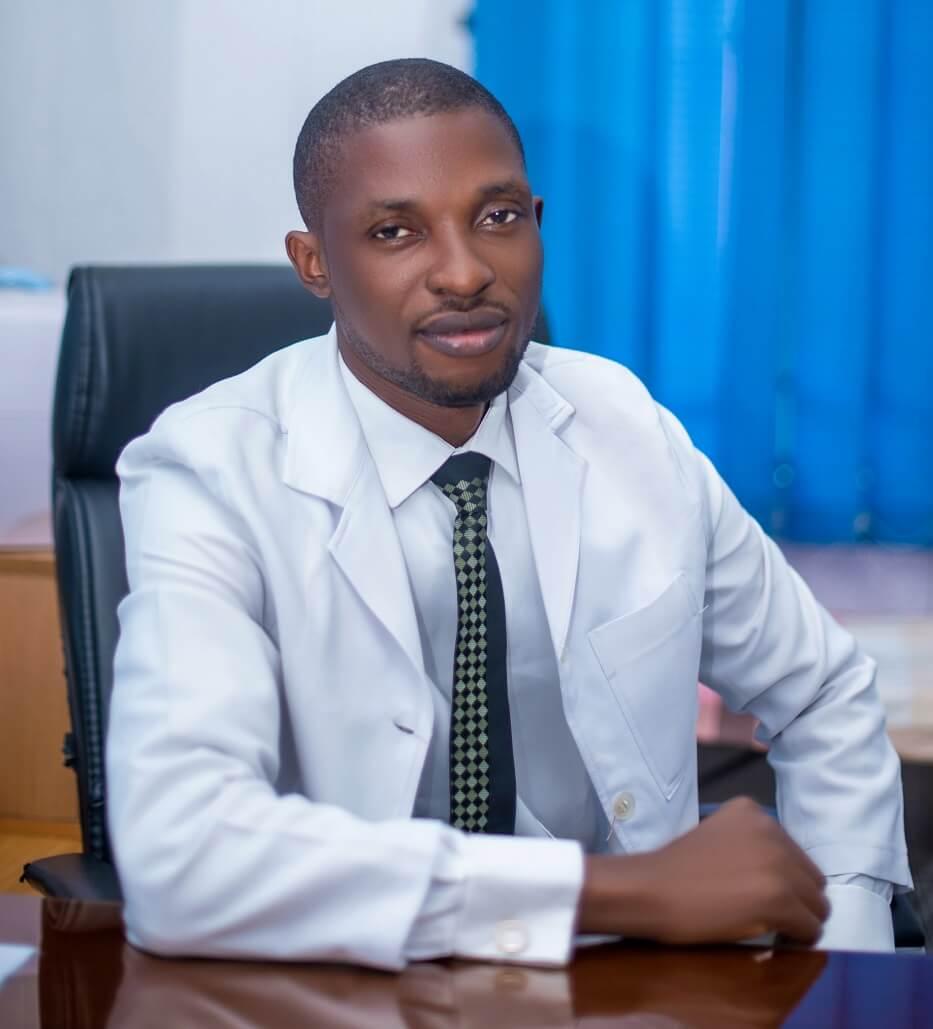 Doctor Udobong Mfon of Shammah Christian Hospital