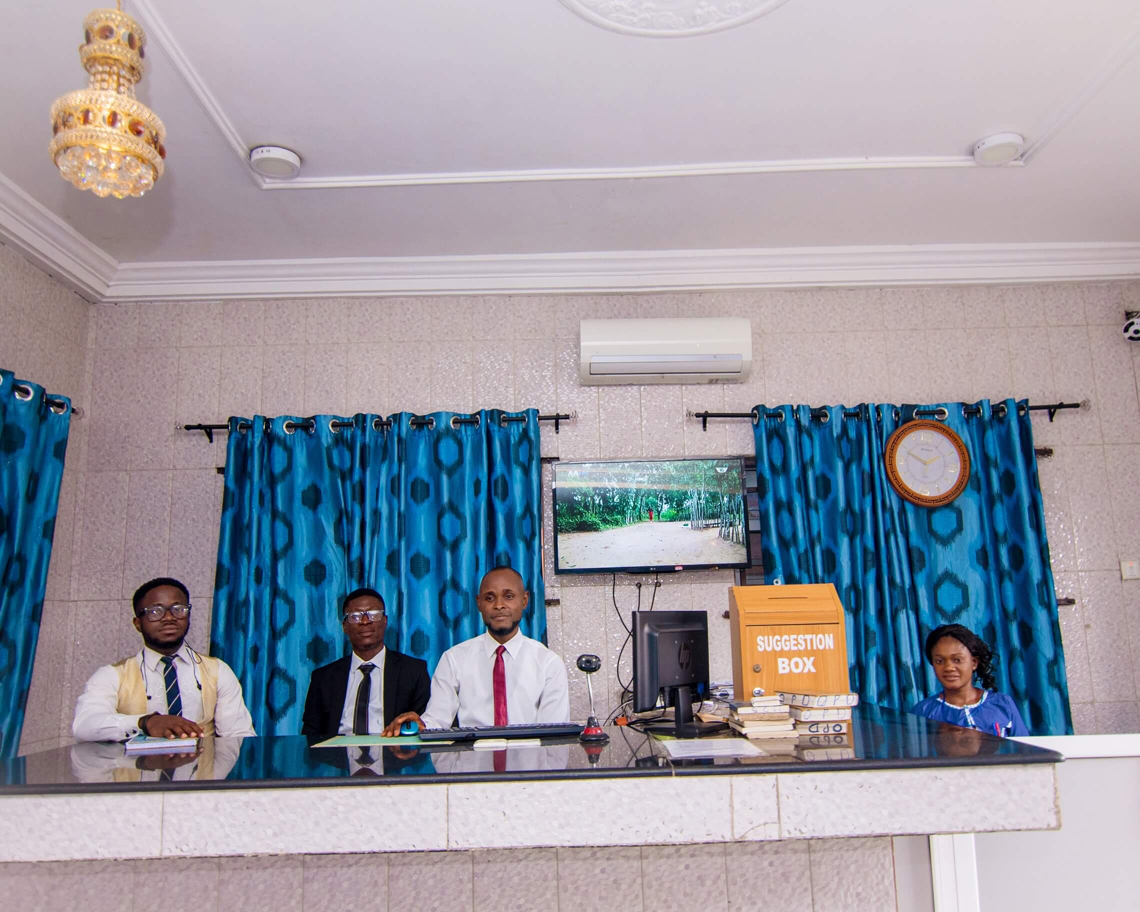 best hospital in port harcourt front desk
