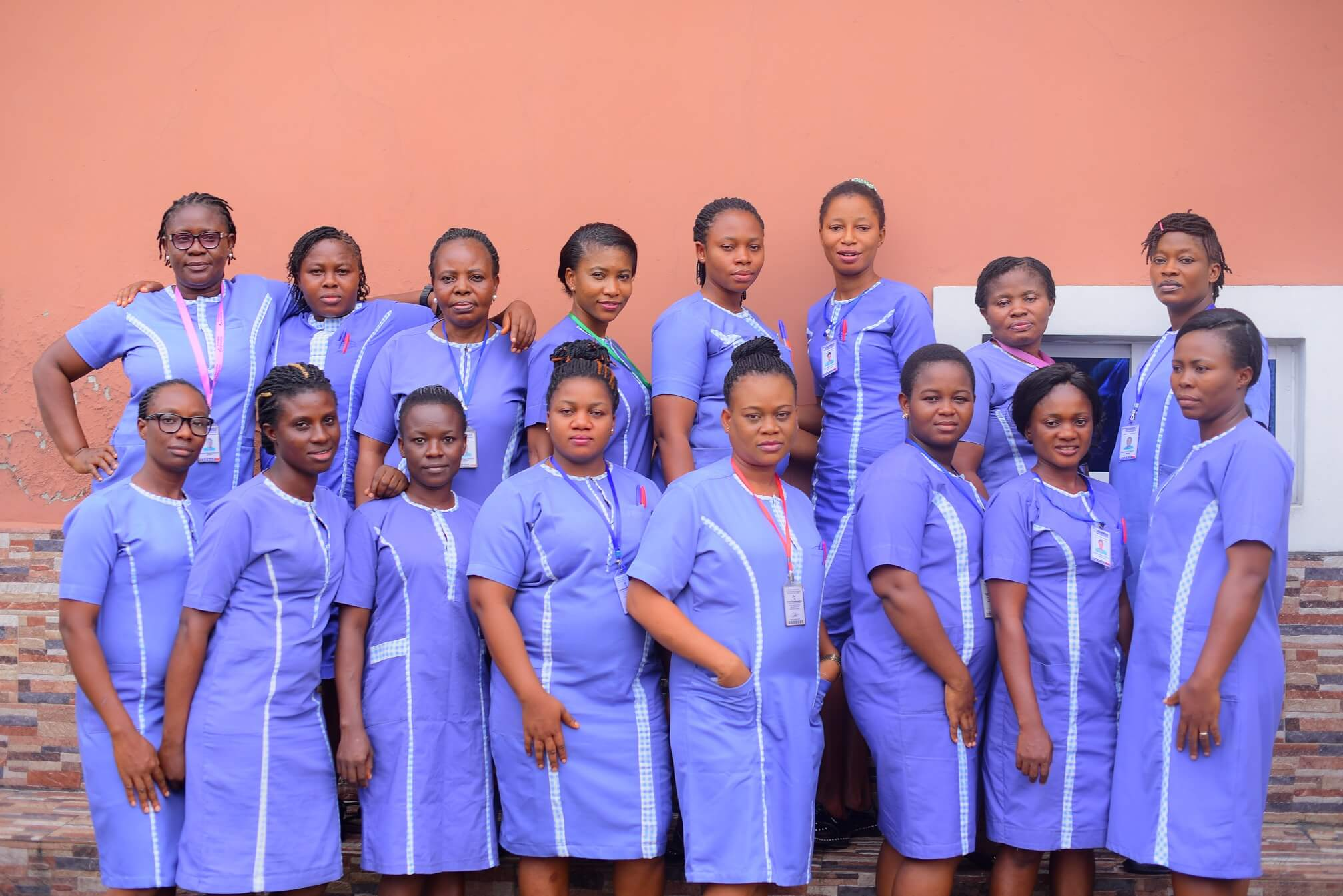 Nurses in Shammah Christian Hospital in Port Harcourt