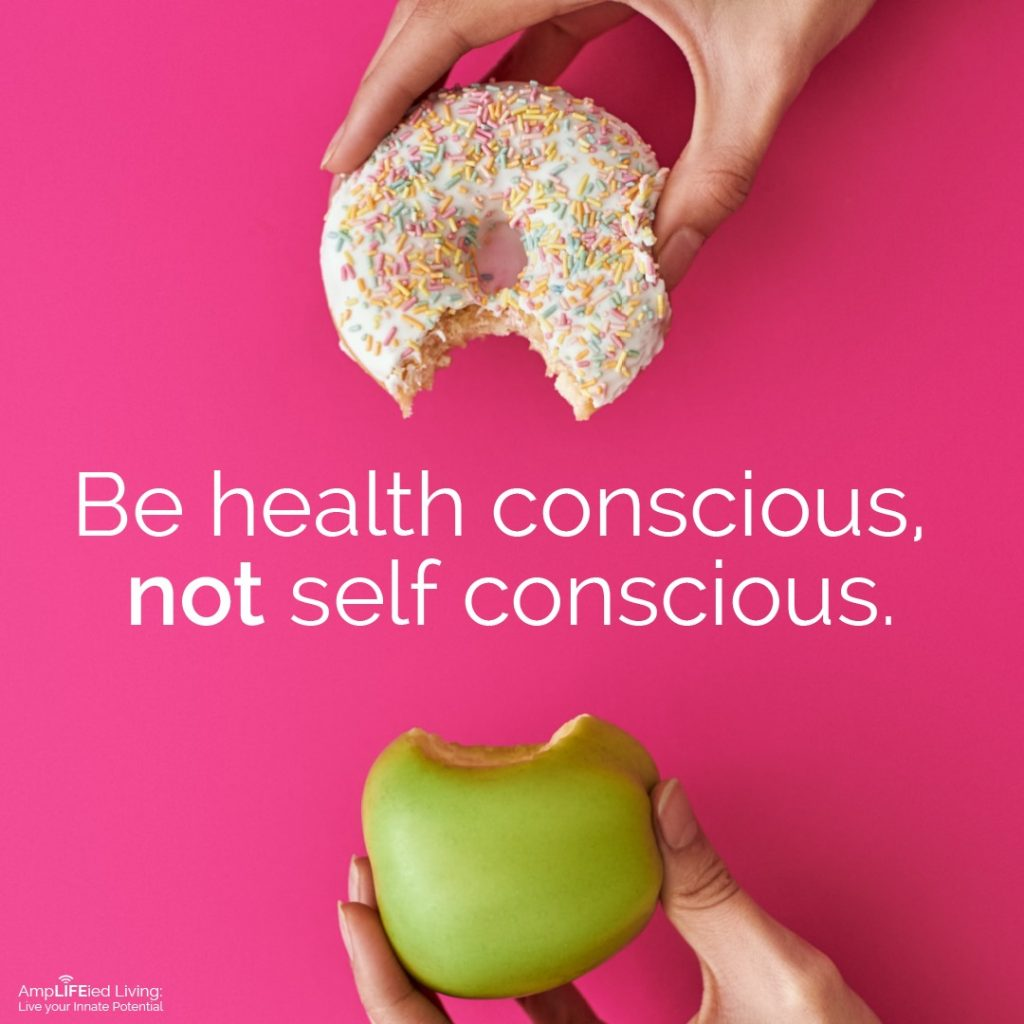 being health conscious