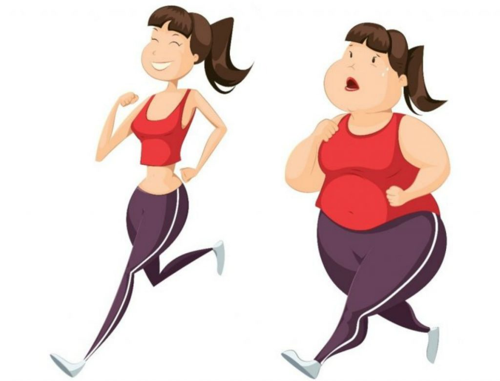 losing weight healthly