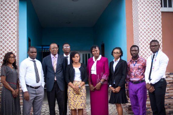 Administrative Team at Shammah Christian Hospital Port Harcourt
