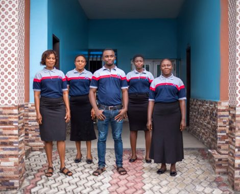 Housekeepers at Shammah Christian Hospital in Port Harcourt