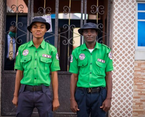 Security Officers at Shammah Christian Hospital in Port Harcourt
